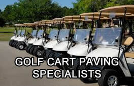 Golf Cart Paving Specialists Madison WI